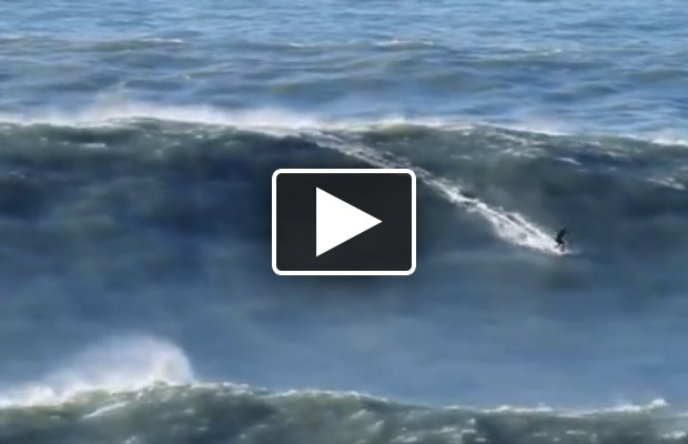 Surfer Breaks World Record (his own)