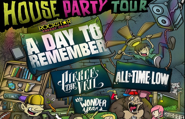 Rockstar Energy Presents: A Day to Remember's House Party