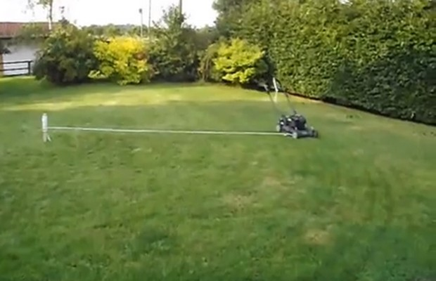 Lazy Man's Lawn Care