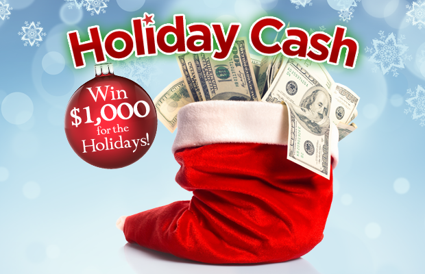 Holiday Cash!